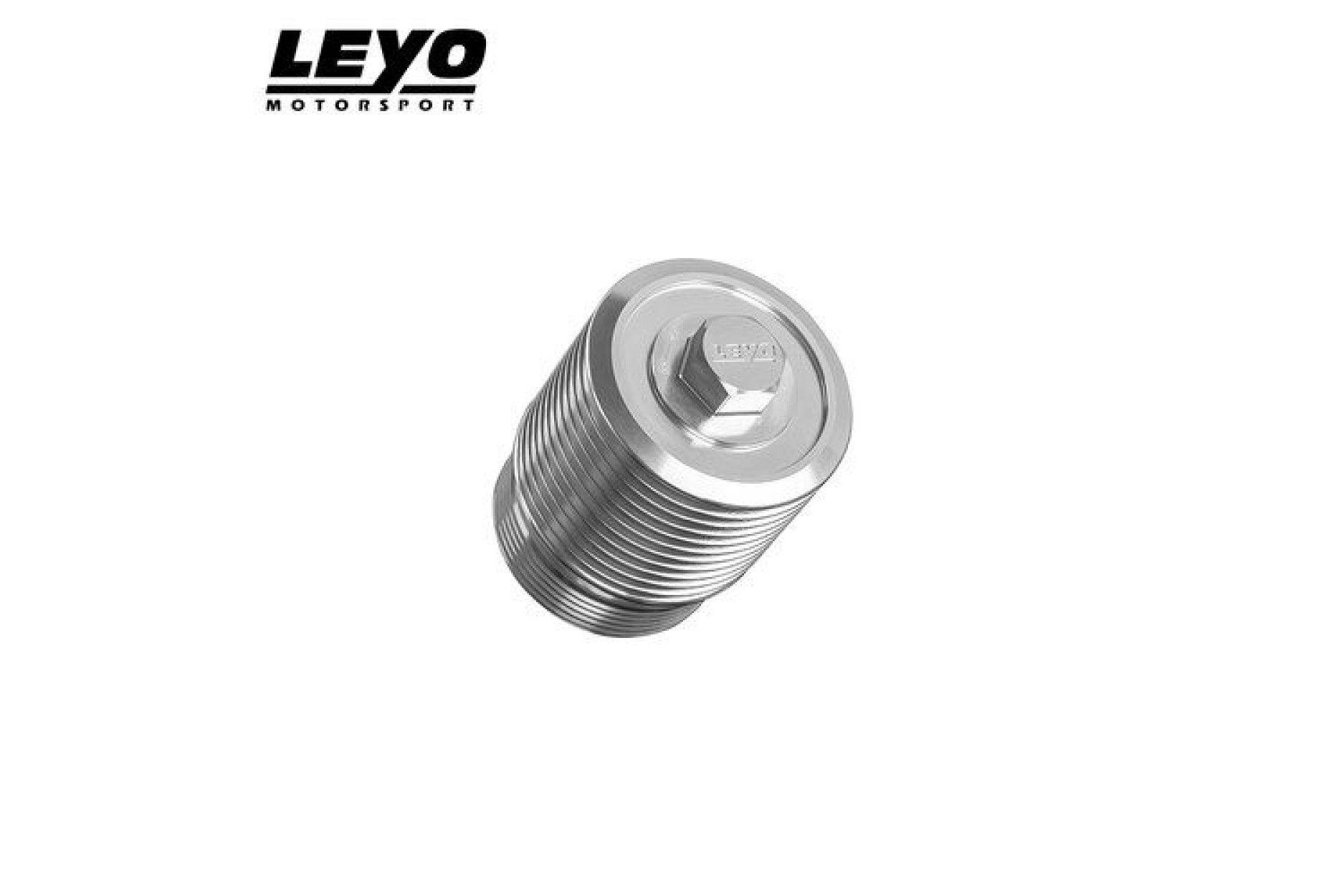 Leyo DSG Ölfilter-Gehäuse für VAG EA888 1.8-2.0TSI silber