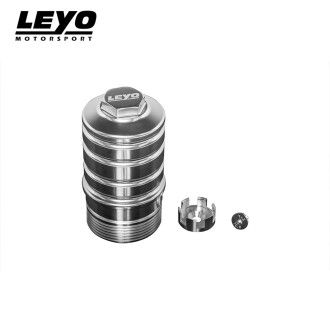 Leyo Ölfilter-Gehäuse für VAG EA888 1.8-2.0TSI schwarz