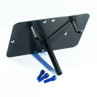 LITEBLOX Adapterplatte Batteriehalter für NIssan GT-R R35 Carbon
