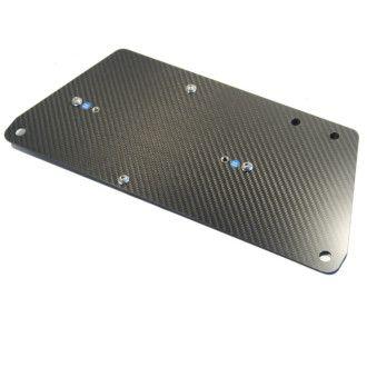 LITEBLOX Adapterplatte Batteriehalter für alle Porsche 718 und 991.2 (inkl. GT2 GT3 GT4 und RS)